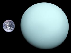 Uranus Saturn